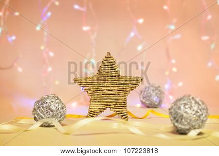 Golden Star Decoration
