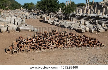 Ancient Sewerage Pipes