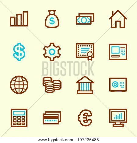 Money Web Icons
