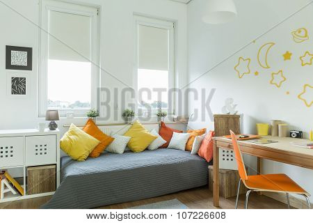 Contemporary Room For Teenager