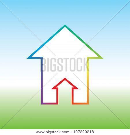 Rainbow House Double