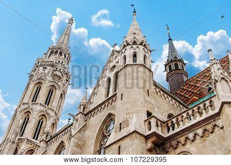 Roman Catholic Matthias Church In Budapest