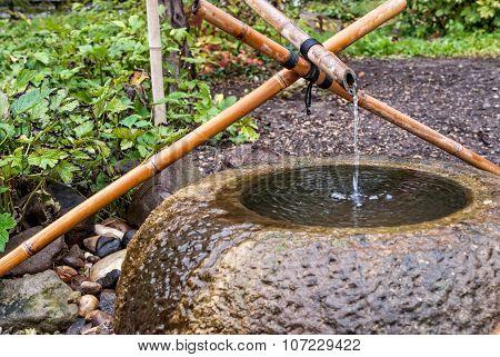Tsukubai Water Fountain