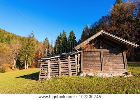 Wooden Shed - Val Di Sella Trentino Italy