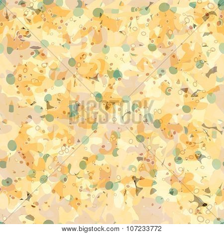Abstract Yellow Background Wallpaper
