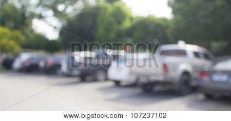 Blur Cars Parking