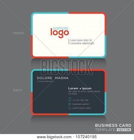 Modern Simple Business Card Design