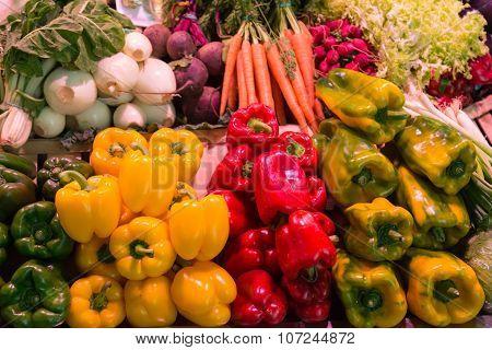 Vegetables for Sale