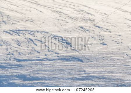 Wind painted Snow Texture Pattern Background