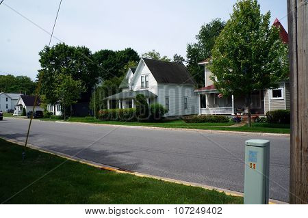 Homes on West Third Street