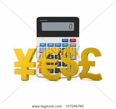 Global Currencies with Calculator