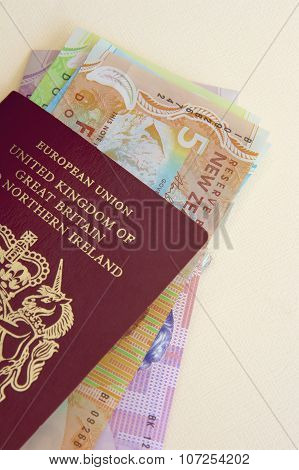 NZ Money and Passport