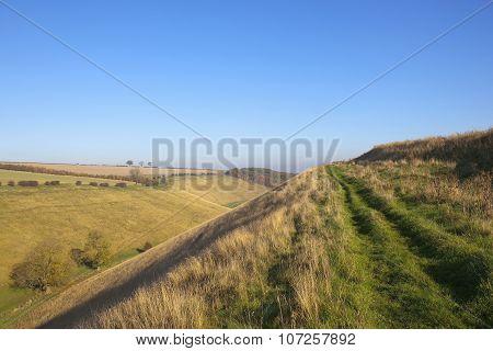 Country Footpath In Horsedale
