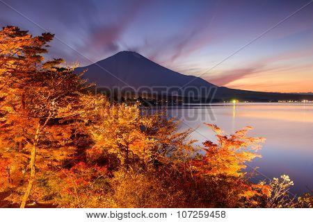 Fuji at Yamanakako Lake