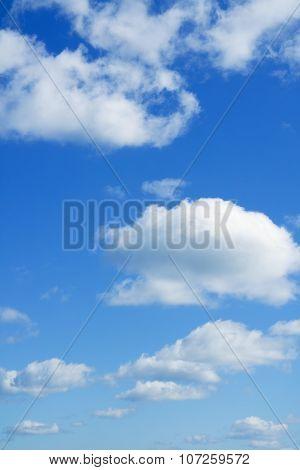 Clouds Over Horizon. Heaven.