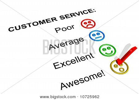 Awesome Customer Service  Rating