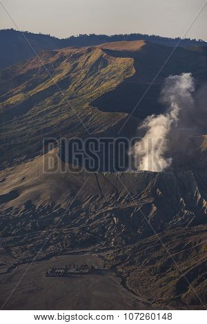 Sunrise at Mount Bromo volcano East Java, Indonesia.