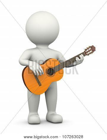 Guitarist 3D Character