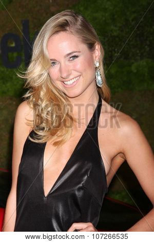LOS ANGELES - MAY 2:  Kimberley Garner at the Jaguar North America and Britweek Present