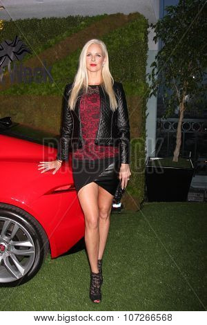 LOS ANGELES - MAY 2:  Claire Farwell at the Jaguar North America and Britweek Present