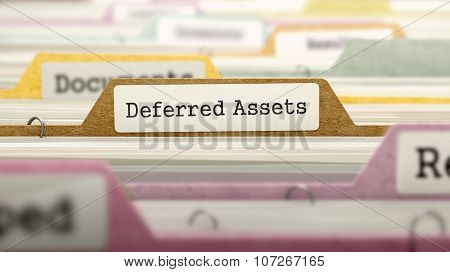 Folder in Catalog Marked as Deferred Assets.
