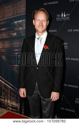 LOS ANGELES - NOV 6:  Christopher O'Connor at the Battersea Power Station Global Launch Party at the The London on November 6, 2014 in West Hollywood, CA