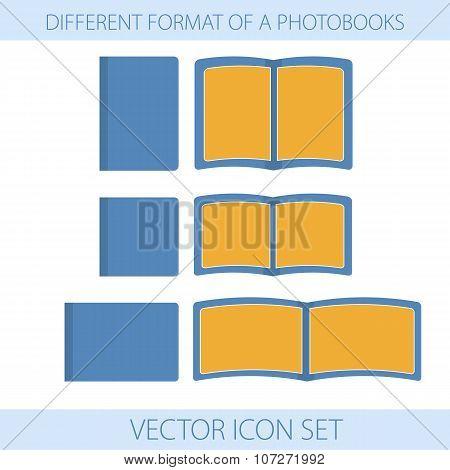 Icons Of Formats Photobooks