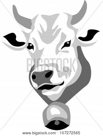 head of cow