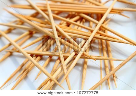 Pile Of Toothpick