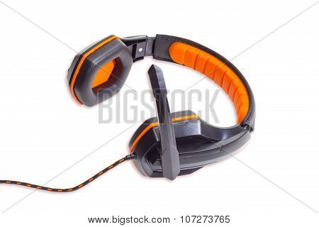 Headset On A Light Background