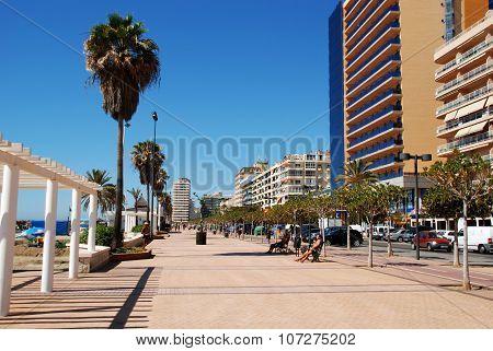 Fuengirola promenade.