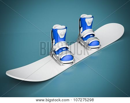 Beautiful Snowboard