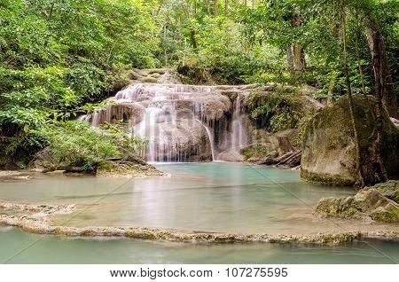 Erawan Waterfalls (thailand)