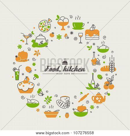 Kitchen. Food.