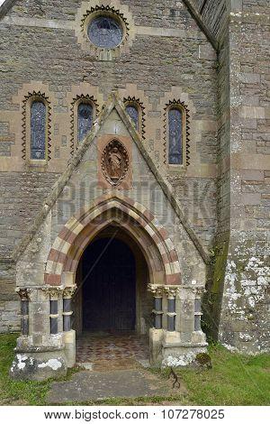 St. Margaret's Church Porch, Welsh Bicknor