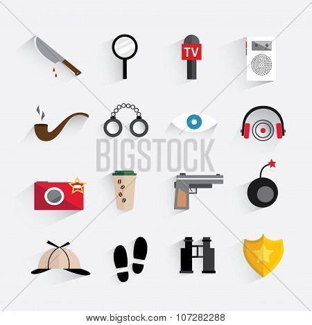 The Detective Icon Set