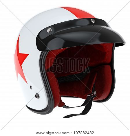 Protectors for sports motorcycle helmet