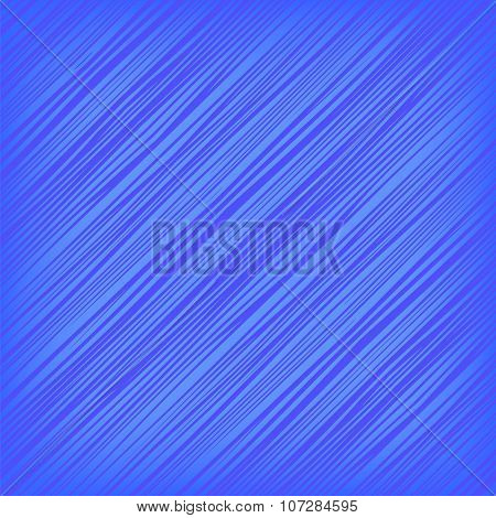 Vector Blue Diagonal Lines Background