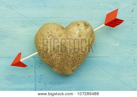 Heart Shape Potato