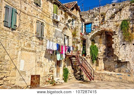 Historic Old Streets Of Split Center