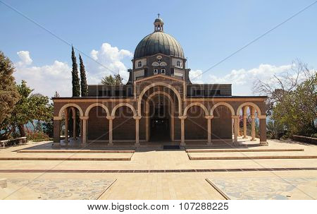 Church On The Mount Of Beatitudes, Israel