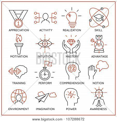 Human Resource Management Icons - Part 2