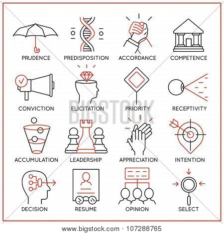 Human Resource Management Icons - Part 4