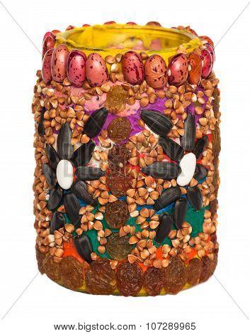 Handmade Decoration Of Vase