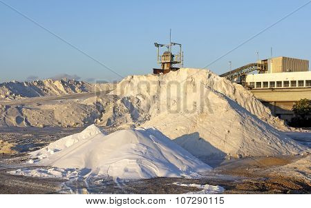Plant For The Extraction Of Salt