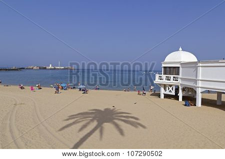 Caleta Beach And Antique Resort In Cadiz