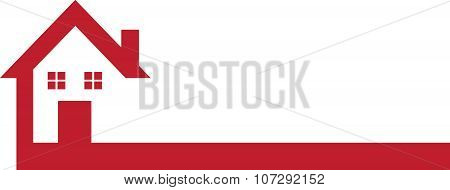 House Logo Red