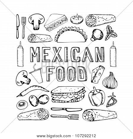Mexican Food.