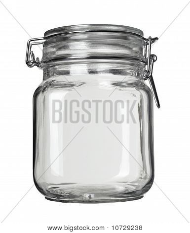 Glass Jar Kitchen Dish