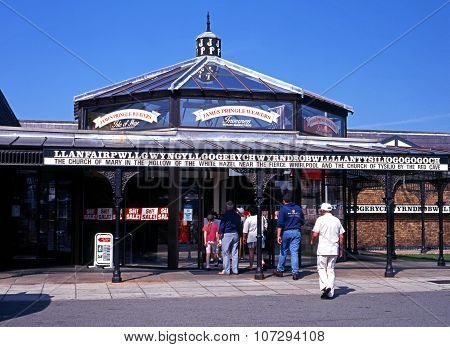 Llanfair Railway Station.